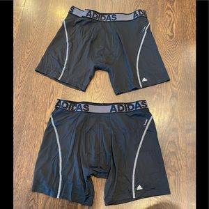Adidas new men's 2 pack climacool boxers